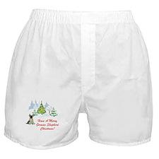 FIN-german-shepherd-christmas.png Boxer Shorts