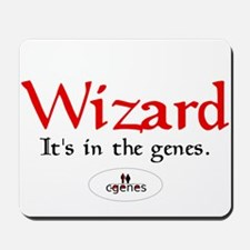 Wizard Genes Mousepad