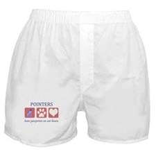 2-FIN-GSPointer-pawprints.png Boxer Shorts