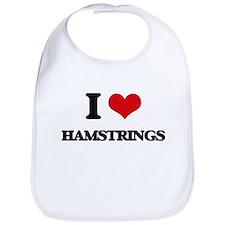 I Love Hamstrings Bib