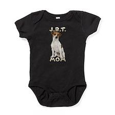 Jack Russell Terrier Mom Baby Bodysuit