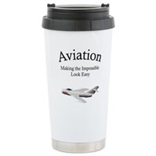 Cute Funny helicopter Travel Mug