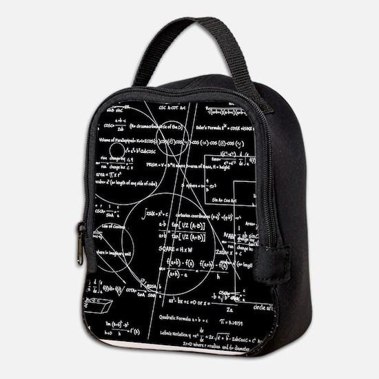 Math Bits Neoprene Lunch Bag
