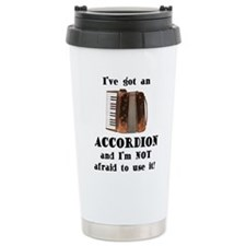 Unique Accordion Travel Mug