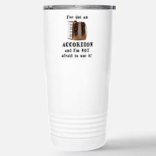 Funny Accordion Travel Mug