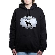 FIN-kerry-blue-terr... Women's Hooded Sweatshirt