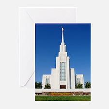 Mormon Twin Falls Idaho Temple Greeting Cards