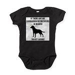 black-labs-heaven.png Baby Bodysuit