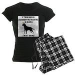 black-labs-heaven.png Women's Dark Pajamas