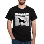 black-labs-heaven.png Dark T-Shirt