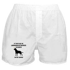 black-labs-heaven.png Boxer Shorts