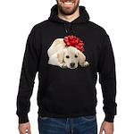 Yellow Lab Puppy Hoodie (dark)