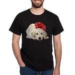 Yellow Lab Puppy Dark T-Shirt