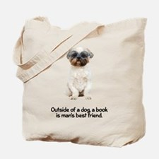 2-FIN-lhasa-apso-best-friend.png Tote Bag