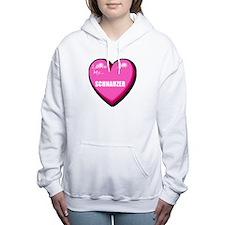 schnauzer-FIN.tif Women's Hooded Sweatshirt
