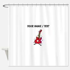 Custom Bass Guitar Shower Curtain