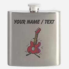 Custom Bass Guitar Flask