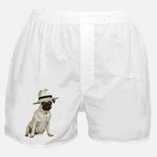 FIN-poker-pug-fawn.png Boxer Shorts
