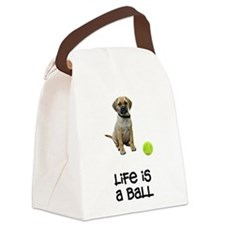 FIN-puggle-life.png Canvas Lunch Bag