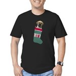 FIN-puggle-xmas-stocking.png Men's Fitted T-Shirt