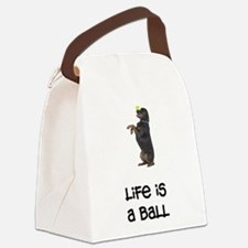 FIN-rottweiler-life-ball.png Canvas Lunch Bag