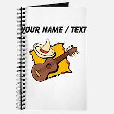 Custom Guitar And Sombrero Journal