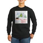 FIN-rottweiler-christmas.png Long Sleeve Dark T-Sh