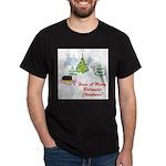 FIN-rottweiler-christmas.png Dark T-Shirt
