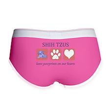 FIN-shih-tzu-pawprints.png Women's Boy Brief