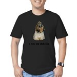 Shih Tzu Lover Men's Fitted T-Shirt (dark)