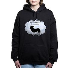 FIN-skye-terriers.png Women's Hooded Sweatshirt