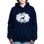 FIN-whippets-heaven.png Women's Hooded Sweatshirt