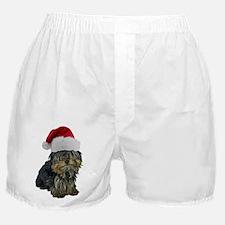 FIN-santa-yorkie-CROP.png Boxer Shorts