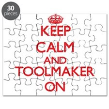 Keep Calm and Toolmaker ON Puzzle