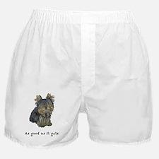 Good Yorkie Boxer Shorts
