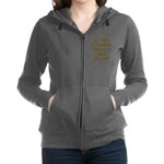 FIN-outfit-dog-hair.png Women's Zip Hoodie