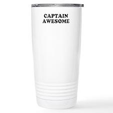 Unique Captain awesome Travel Mug