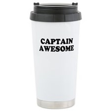 Cute Captain awesome Travel Mug