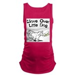 FIN-move-over-little-dog.png Maternity Tank Top