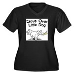 FIN-move-over-little-dog.png Women's Plus Size V-N