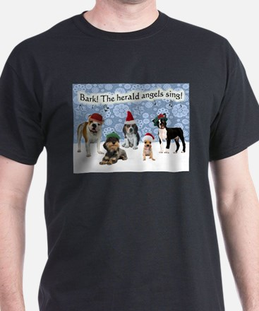 Bark The Herald Angels Sing T-Shirt