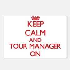 Keep Calm and Tour Manage Postcards (Package of 8)