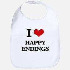 I love Happy Endings Bib