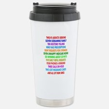 Unique Pharmacist humor Travel Mug