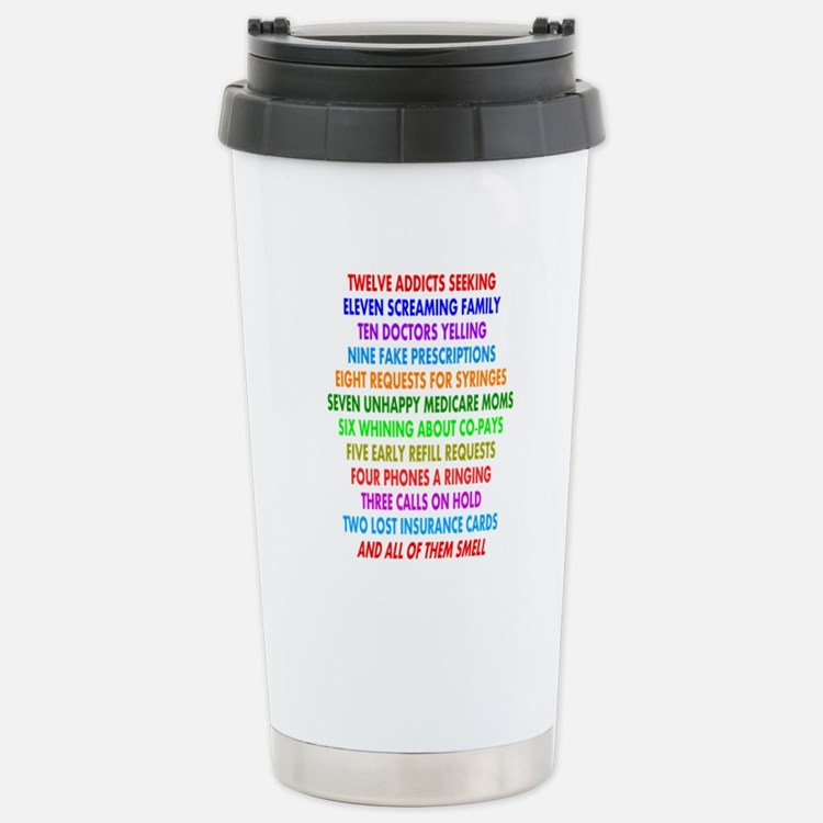 Cute Retail pharmacist humor Travel Mug