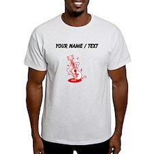 Custom Cartoon Guitar T-Shirt