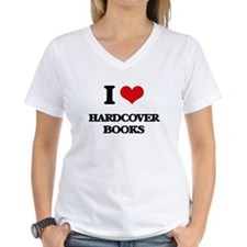 I Love Hardcover Books T-Shirt
