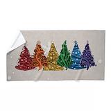 Christmas tree Beach Towels