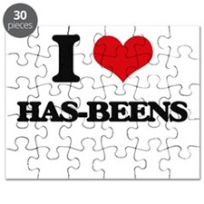 I Love Has-Beens Puzzle