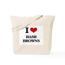 I Love Hash Browns Tote Bag